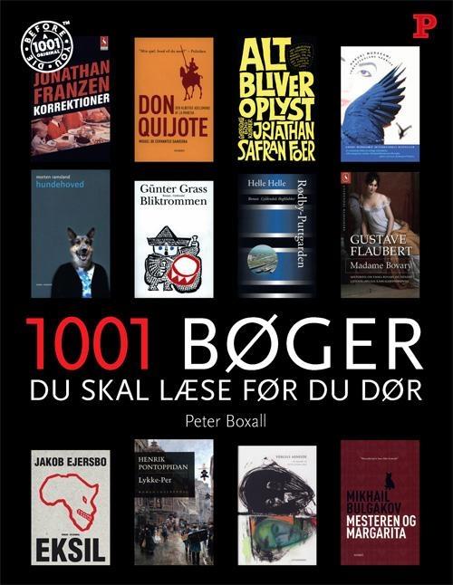 Peter Boxall (red.): 1001 bøger, du skal læse, før du dør