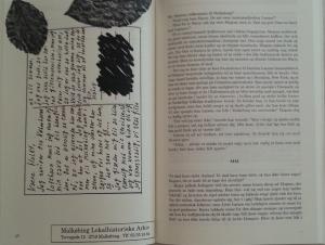 """Et opslag fra Malkøbing Museum (fra historien """"1969. Pigen fra skoven"""")."""