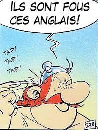 Obelix: Ils sont fous, ces anglais!