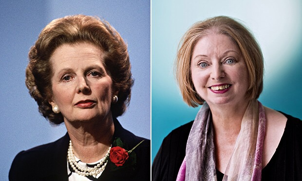 Maragaret Thatcher og Hilary Mantel