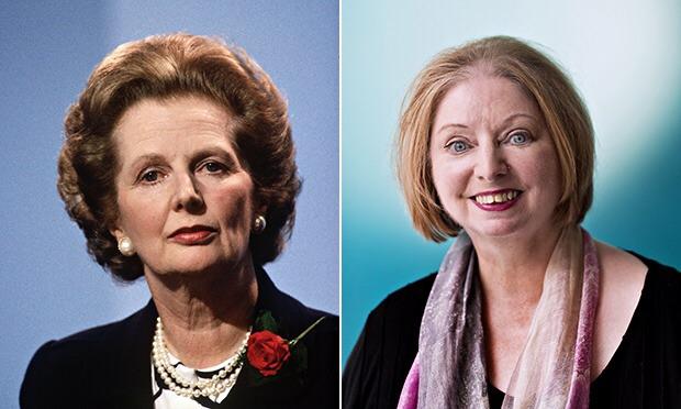 Maragaret Thatcher og Hilary Mantel