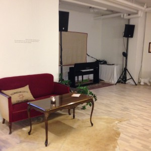 Musikscenen hos Baronessen & CO