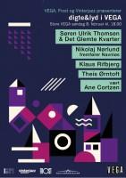Litteratur LIVE: Digte & Lyd i Vega
