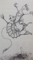 Den Forlorne Skildpadde og Griffen danser hummer-kvadrille (Alice i Eventyrland, Rosenkilde & Bahnhof 2015)