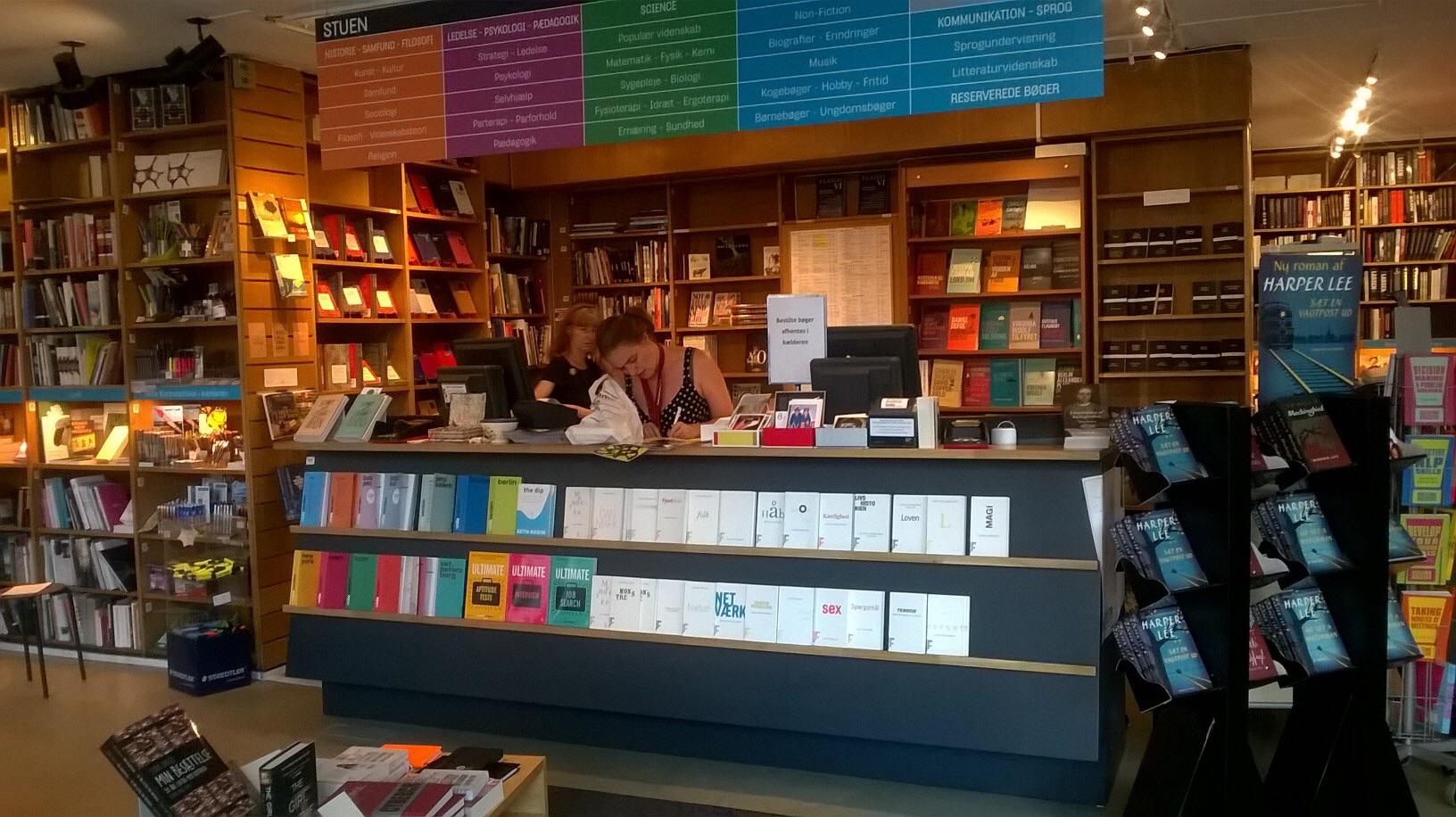 atheneum boghandel - disken