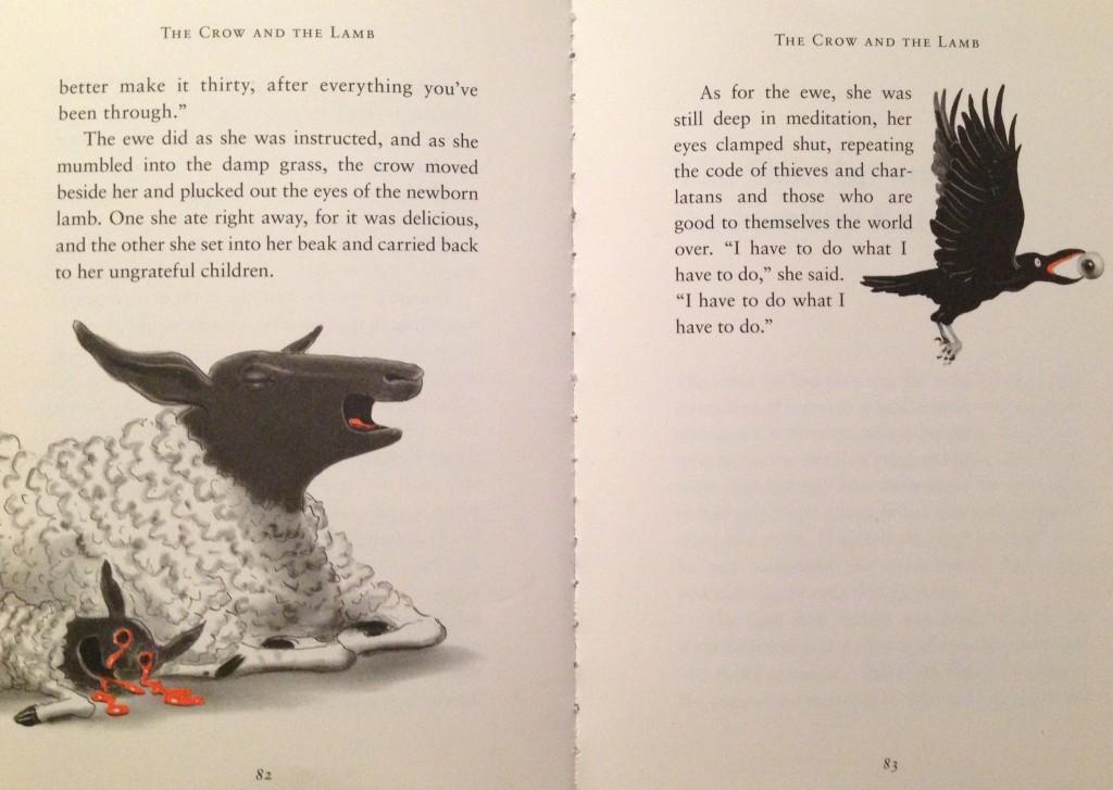 Fra David Sedaris: Squirrel seeks chipmunk (ill.: Ian Falconer)