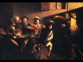 Caravaggio, Sankt Mattæus' kaldelse (1599-1600)