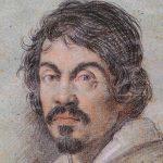 Caravaggio portrætteret af Ottavio Leoni (1621)