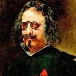 Francisco de Quevedo portrætteret af Diego Vélazquez