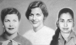 Fra venstre: Patria, Minerva og María Teresa Mirabal.