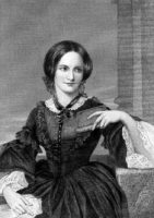 Charlotte Brontë (1816-1855). Posthumt portræt af Duyckinick, 1873, baseret på en tegning af George Richmond