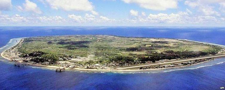 Nauru (og ja, det er det hele, større er landet ikke)