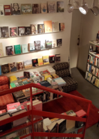 Tour-de-boghandel i Madrid